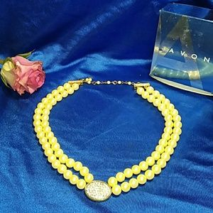 AVON Presidents Recognition Pearlesque Necklace 20